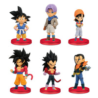 Dragon Ball GT: World Collectable Figure vol.1 - Set of 6 Figures
