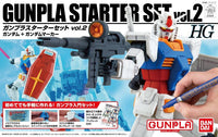 Bandai - Gunpla Starter Set Vol. 2: Gundam VerG G30th - HGUC Model