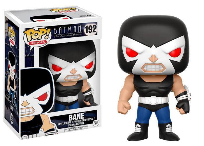 Funko Heroes Pop!: Batman the Animated Series Bane #192