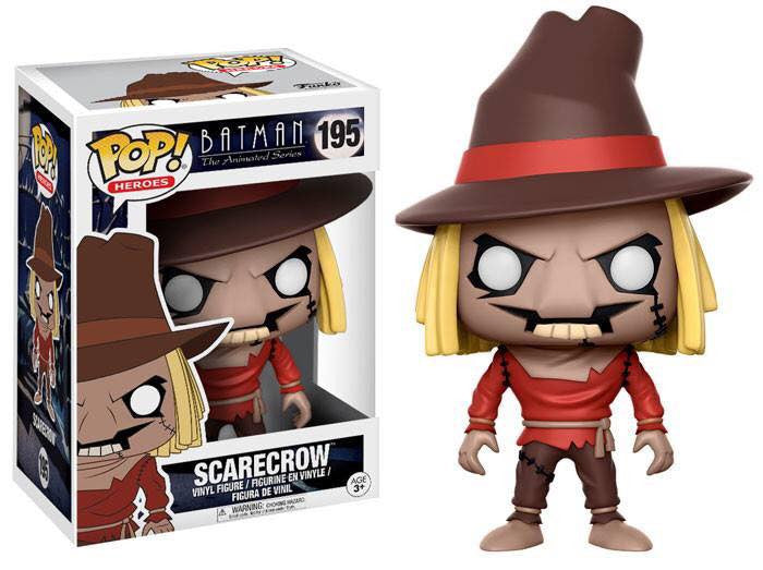 Funko Heroes Pop!: Batman the Animated Series Scarecrow #195
