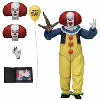 NECA Ultimate 7 Inch Action Figure: IT - Pennywise 1990 Version 2