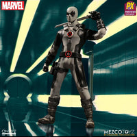 Mezco One:12 Action Figure:  X-Force Deapool Previews Exclusive