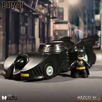 Mezco Mez-itz: 1989 Batman and Batmobile