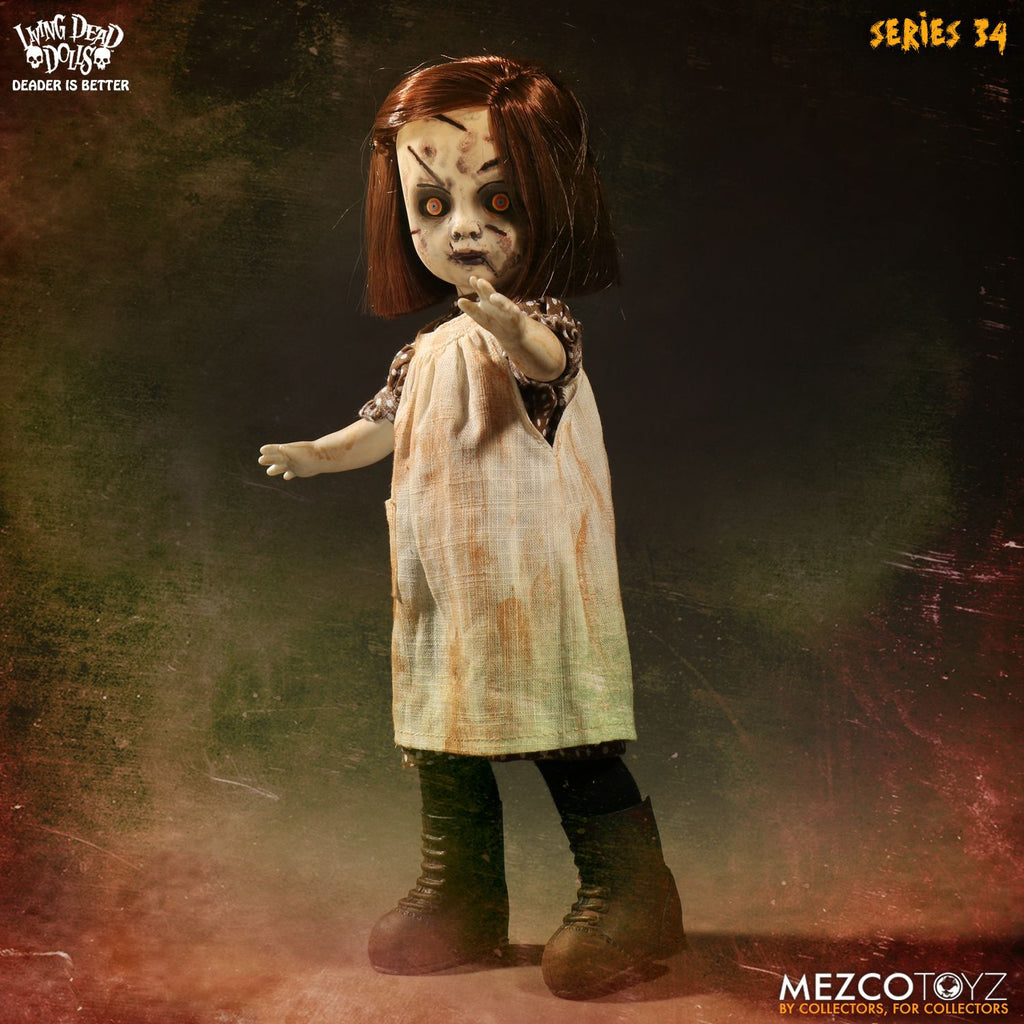 Mezco Living Dead Dolls -Series 34 - Ash Lee 10 in Figure