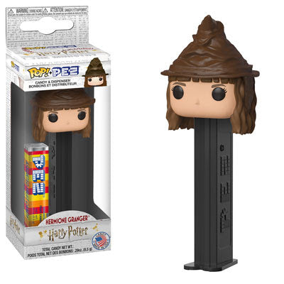Funko Movies Pop Pez:  Harry Potter - Hermione Granger (Sorting Hat)