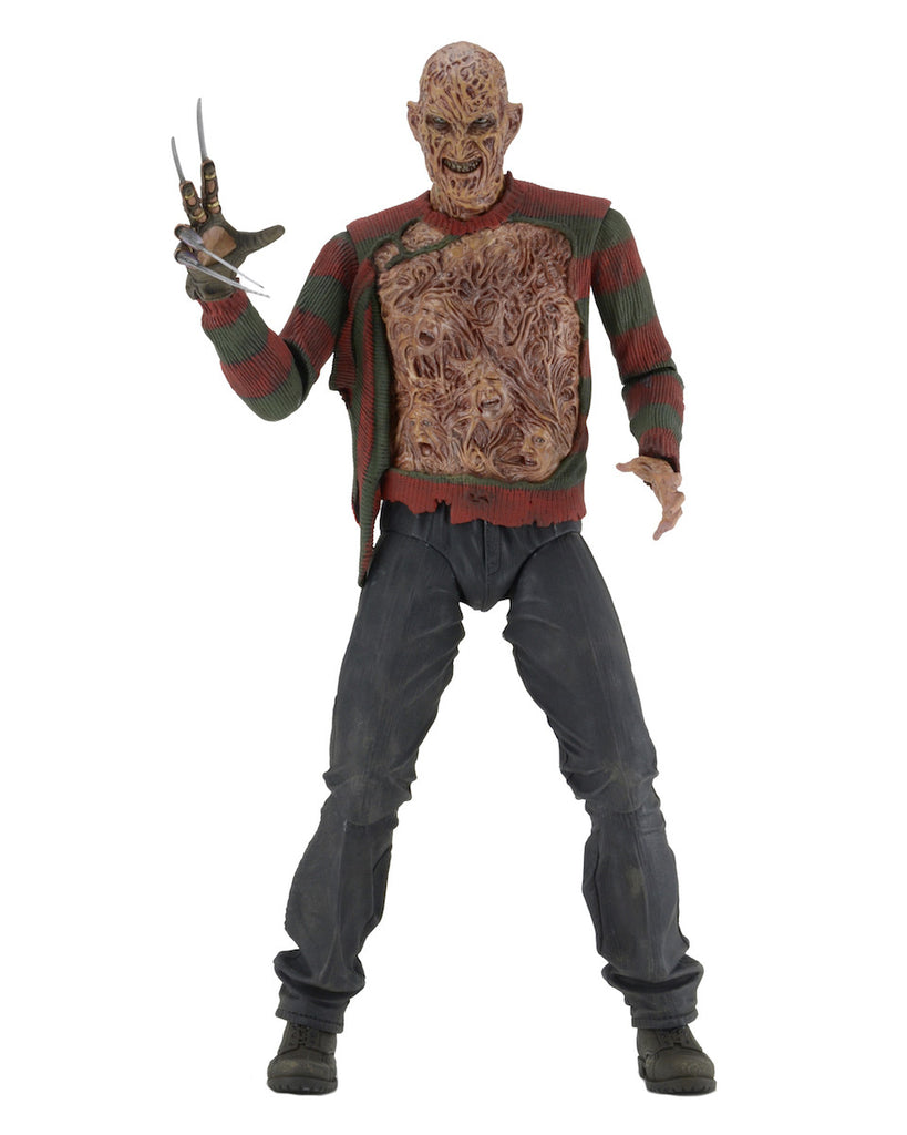 NECA - Nightmare on Elm Street Dream Warriors(30th Anniversary) Freddy- 1/4 Scale Action Figure