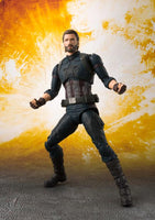 Bandai S.H.Figuarts: Avengers: Infinity War - Captain America & Tamashii Effect Explosion
