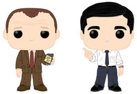 Funko Television Pop: The Office - Toby vs Michael 2 pack