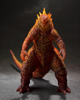 Bandai - S.H. Monsterarts - Godzilla King of the Monsters 2019 Burning Godzilla Figure (Orange)