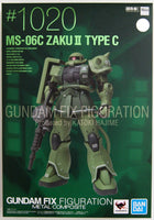 Bandai - Mobile Suit Gundam: The Origin - MS-06C Zaku II Type C - Gundam Fix Figuration Metal Composite