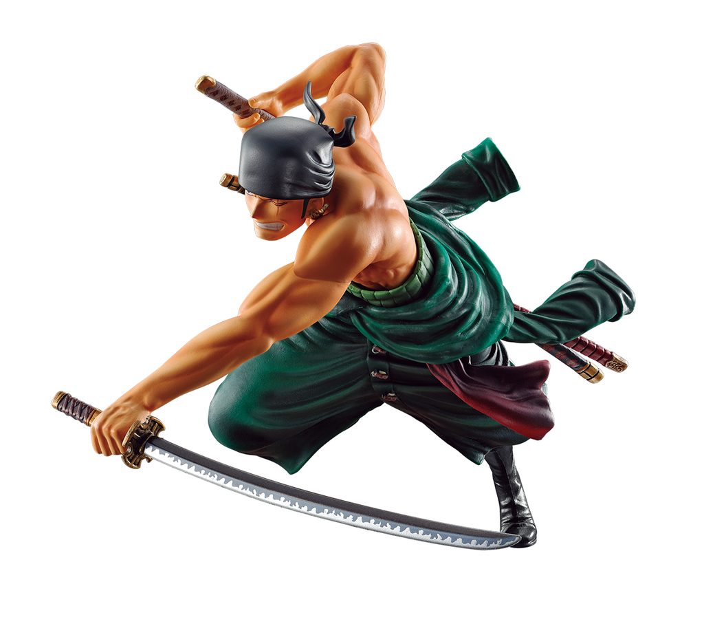 Bandai - One Piece - Roronoa Zoro (Battle Memories) - Ichiban Figure