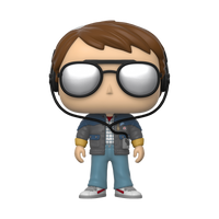 Back to the Future Pop! - Marty w/ Glasses