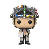 Back to the Future Pop! - Doc w/ Helmet