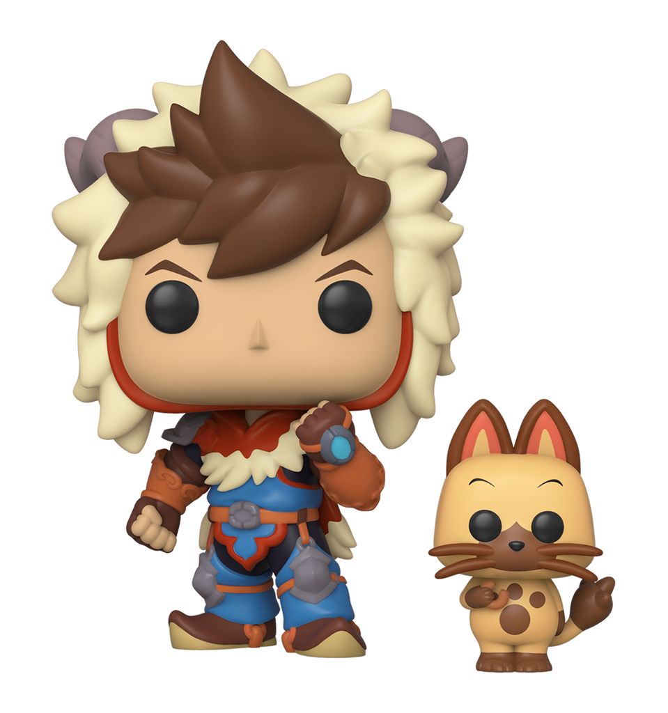 Funko Animation Pop - Monster Hunter - Lute w/ Navirou