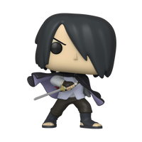 Animation Pop! Boruto - Sasuke w/cape (No Arms) - Specialty Series