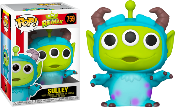 Funko Disney Pop - Pixar Alien Remix - Sulley