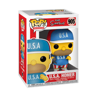 Funko Animation Pop - The Simpsons - USA Homer