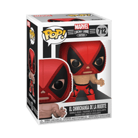 POP Marvel: Luchadores- Deadpool