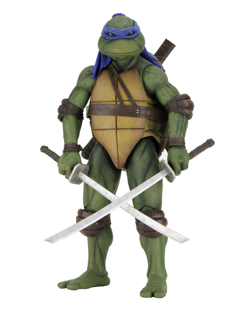 NECA - Teenage Mutant Ninja Turtle(1990 Movie) Leonardo - 1/4 Scale Action Figure  - Free Shipping<br>Pre-Order