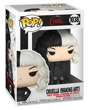 Funko Disney Pop - Cruella - Cruella (Making Art)