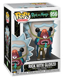 Funko Animation Pop - Rick & Morty - Rick w/ Glorzo