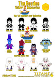 Box of 18 Titans Vinyl Figures - The Beatles Yellow Submarine - The 'All Together Now' Colelction