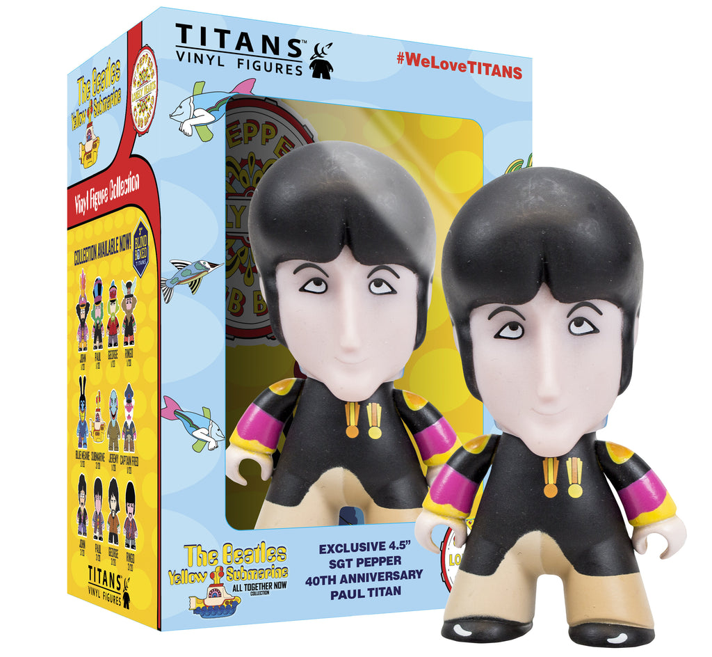 Titans Vinyl Figures - Sgt Pepper Paul