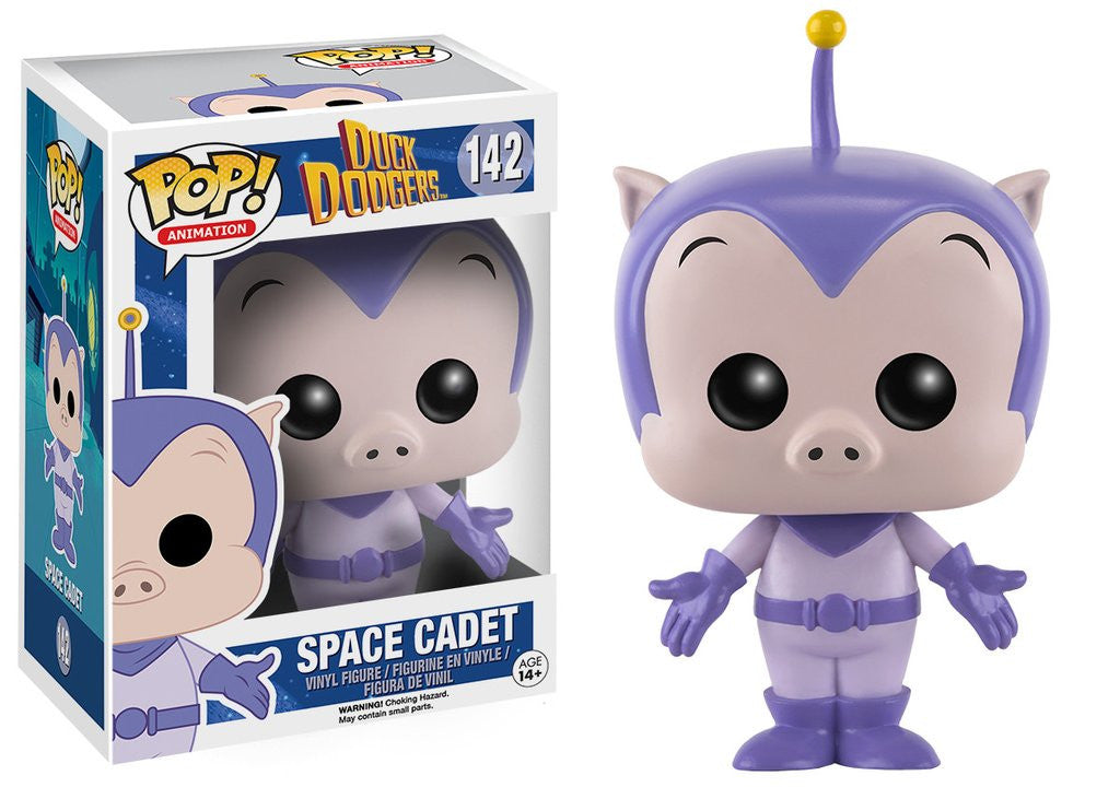 Funko Animation Pop! Duck Dodgers - Space Cadet #142 - Videguy Collectibles