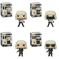 Funko Movies Pop - Atomic Blonde - Set of 4 w/ 2 Chase