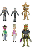 Funko Animation Action Figures - Rick and Morty - Set of 5 - Pre-Order