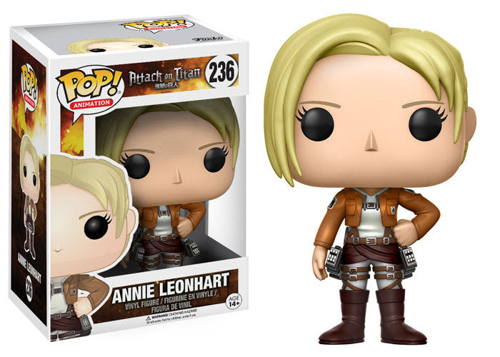 Funko Animation Pop! - Attack on Titan Annie Leonhart #236