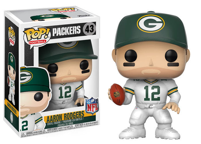 Funko NFL Pop!s Wave 4 - Green Bay Packers Aaron Rodgers