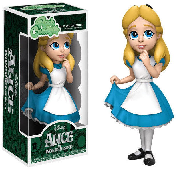 Funko Disney Rock Candy Vinyl Figures - Alice in Wonderland - Alice <br> Pre-Order