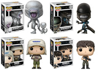 Set 4 Funko Movies Pop! - Alien: Covenant Vinyl Figures