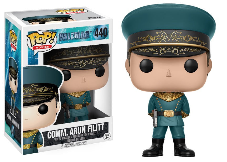 Funko Movies Pop! - Valerian - Commander Arun Filitt #440<br>Pre-Order