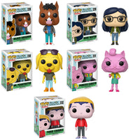 Set of 5 Funko Animation Pop! Bojack Horseman - All 5 Vinyl Figures<br>Pre-Order