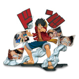 ONE PIECE STORY-AGE MONKEY. D. LUFFY - PVC Figure