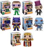 Set of 5 Funko DC Heroes Pop! Batman 1966 - All 5 regular Pop!s <br>Pre-Order