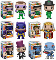Set of 6 Funko DC Heroes Pop! Batman 1966 - All 5 Regular Pop!s + Chase<br>Pre-Order