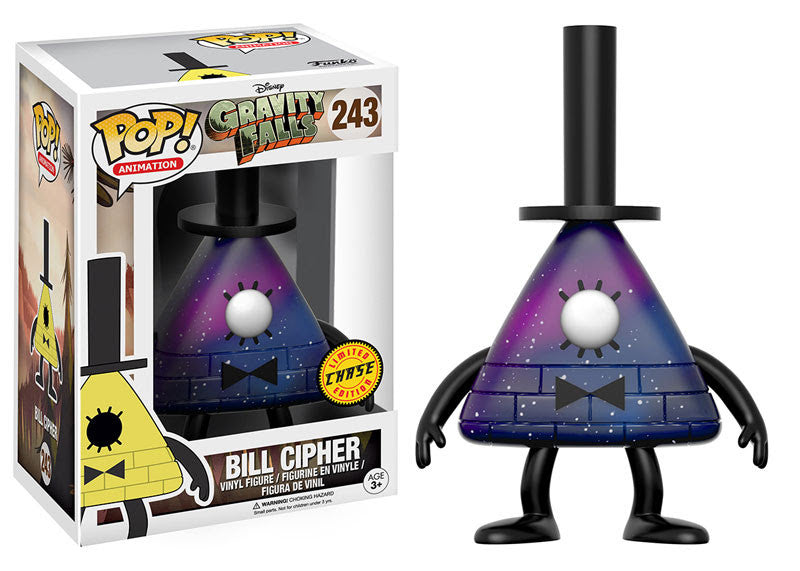 Funko Disney Animation Pop! - Gravity Falls - Bill Cipher #243 Chase