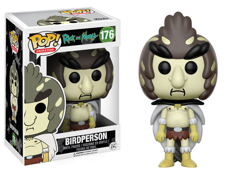 Funko Animation Pop! Rick and Morty - Birdperson #176 - Videguy Collectibles