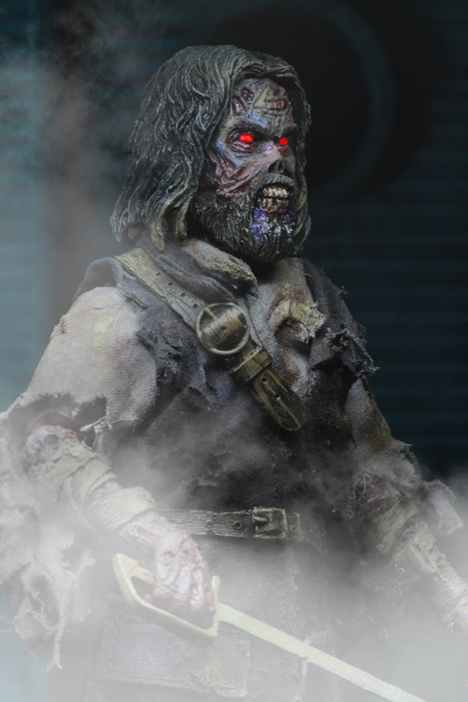 "NECA The Fog Captain Blake 8/"" Clothed Action Figure New in Stock ghost Zombie"