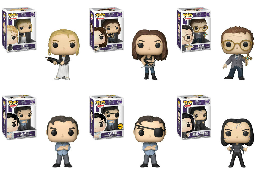 Funko Television Pop! - Buffy the Vampire Slayer - Set of 6 w/ Chase