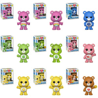 Funko Animation Pop! - Care Bears - Set of 9 including 3 Chases