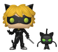 Funko Animation Pop! - Miraculous: Tales of Ladybug & Cat Noir - Cat Noir w/ Plagg - Pre-Order