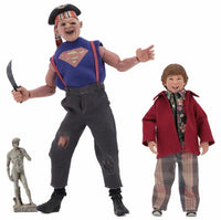 NECA 8 Inch Clothed Action Figure - The Goonies Sloth and Chunk 2-Pack
