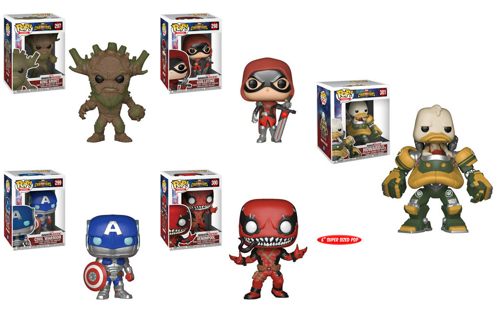 Funko Games Pop! - Marvel - Contest of Champions - Set of 5
