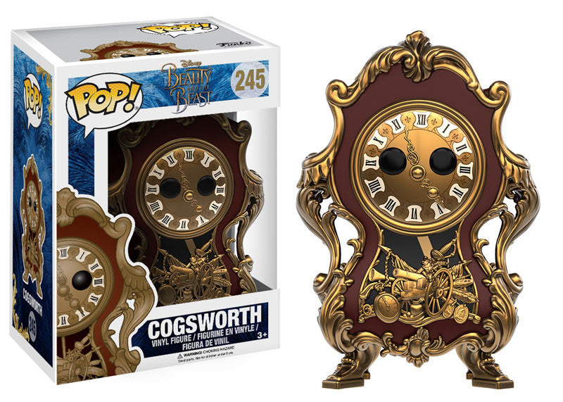 Funko Disney Pop! Beauty and the Beast -  Cogsworth #245