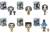 Funko Movies Pop! - Coarline Set of 6 w/ Chase - Pre-Order