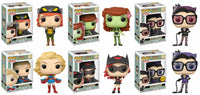 Funko Heroes Pop! - DC Bombshells - Set of 6 Including Chase